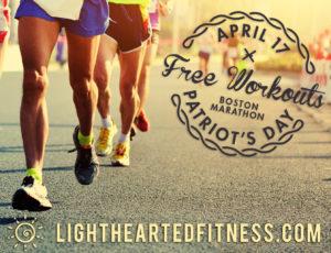 Free workouts Monday 4/17